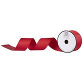 "Red Grosgrain Ribbon - 2"""