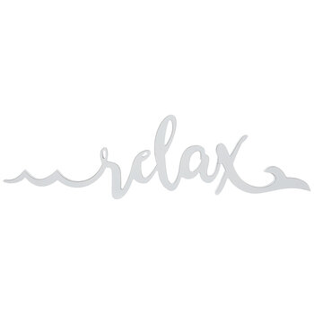 Relax Waves Wood Wall Decor