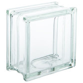 Glass Block with Hole