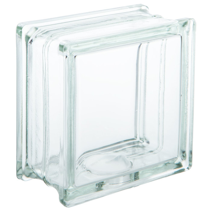 Glass Block With Hole 6 X Hobby, Decorative Glass Blocks