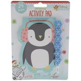 Christmas Penguin Activity Pad & Stackable Pencil