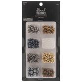 Metallics Glass & Seed Bead Mix
