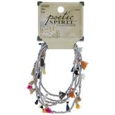 Seed Bead Tasseled Bracelets