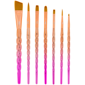 Unicorn Paint Brushes - 7 Piece Set