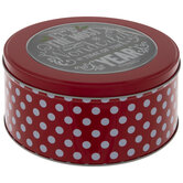 Most Wonderful Time Round Tin Box