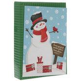 James 1:17 Snowman Cards