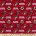 NHL Arizona Coyotes Allover Cotton Fabric