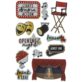 Theater 3D Stickers