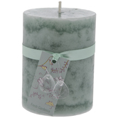 Fresh Gardenia Pillar Candle