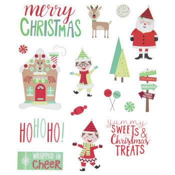 Santa & Elf Stickers