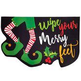 Merry Elf Feet Doormat