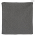 Gray Knit Pillow Cover With White Dots