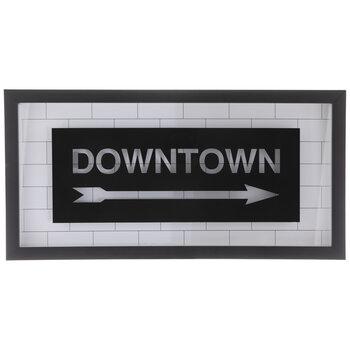 Downtown Framed Wall Decor