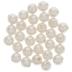 Crystal White Round Swarovski Pearl Beads - 4mm