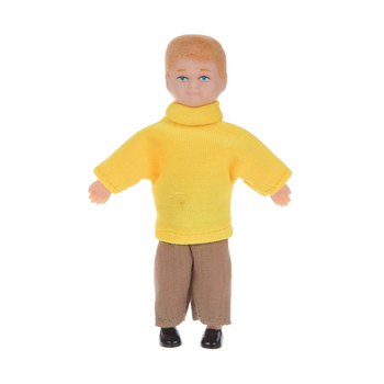 Blonde Brother Doll