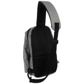 Gray Fit Kicks Sling Backpack