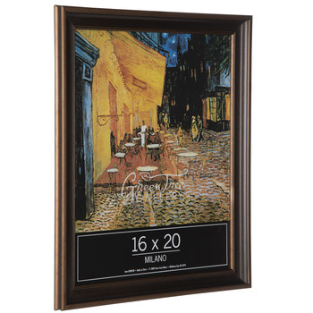 Antique Gold Beveled Wood Wall Frame