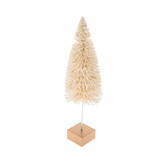 White Sisal Tree On Wire Base - Small