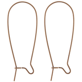 Kidney Ear Wires - 37mm