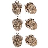 Bronze Acorn Metal Bells