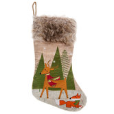 Reindeer & Fox Stocking