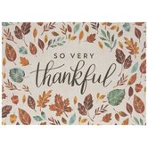 So Very Thankful Placemats