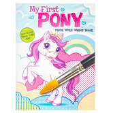 My First Pony Paint With Water Book