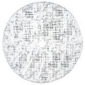White Faux Fur & Silver Foil Tree Skirt