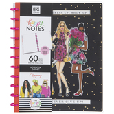 Never Give Up Happy Notes Notebook