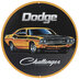 Dodge Challenger Metal Sign