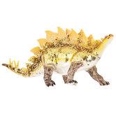 Gold Glitter Stegosaurus Ornament