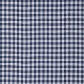 Blue Gingham Homespun Cotton Calico Fabric