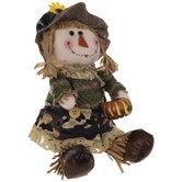 Camo Girl Plush Scarecrow