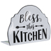 Bless This Kitchen Metal Decor