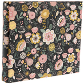 "Gold Floral Post Bound Scrapbook Album - 6"" x 6"""
