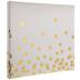 Gold Foil Confetti Post Bound Album - 12