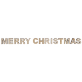 Merry Christmas Wood Letters