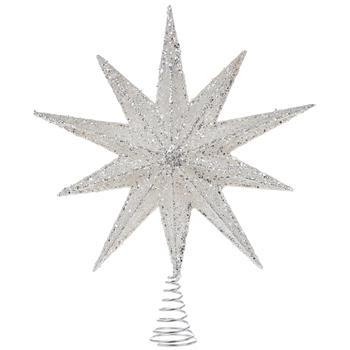Glitter Star Light Up Tree Topper