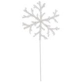 White Snowflake Pick