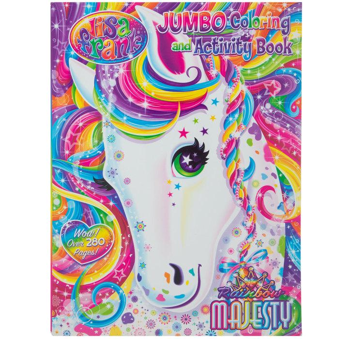 - Lisa Frank Jumbo Coloring & Activity Book Hobby Lobby 383091