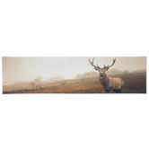 Brown Deer Canvas Wall Decor