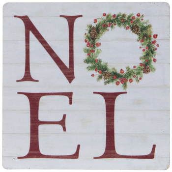 Noel Wreath Magnet
