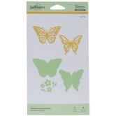 Butterflies Glimmer Hot Foil Plates & Dies