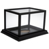 Black Football Display Case
