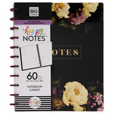 Floral Notes Happy Planner Notebook