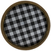Buffalo Check Galvanized Metal Tray - Large