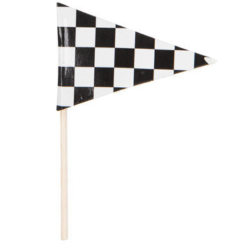Checkered Flag Cupcake Toppers