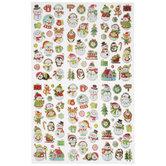 Snowmen & Friends Foil Stickers