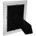 Silver Diamond Cutouts Metal Frame - 5