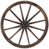 Wagon Wheel Wood Wall Decor